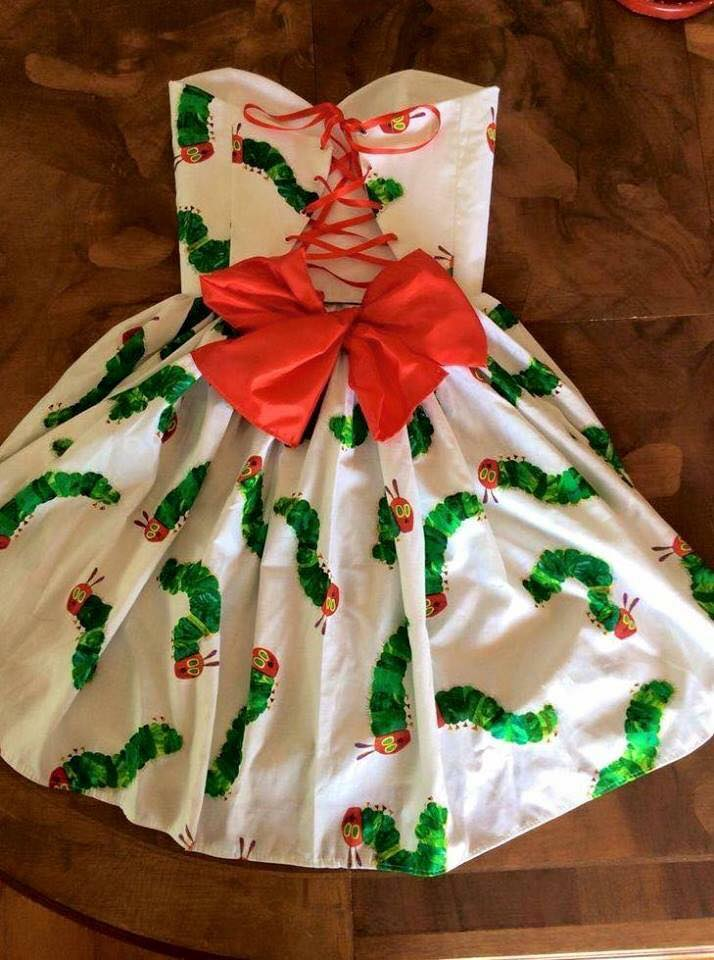 Hungry Caterpillar Sweetheart Dress
