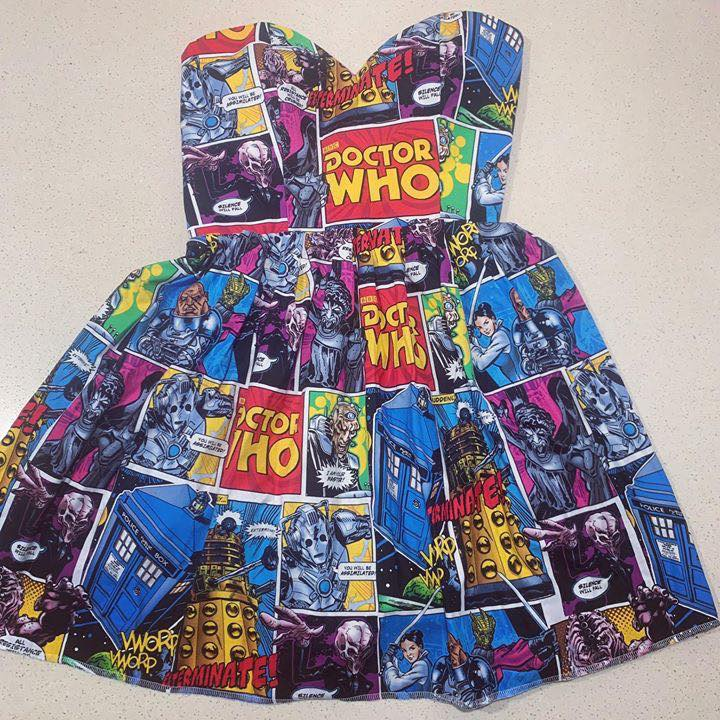 Doctor Who Sweetheart Dress