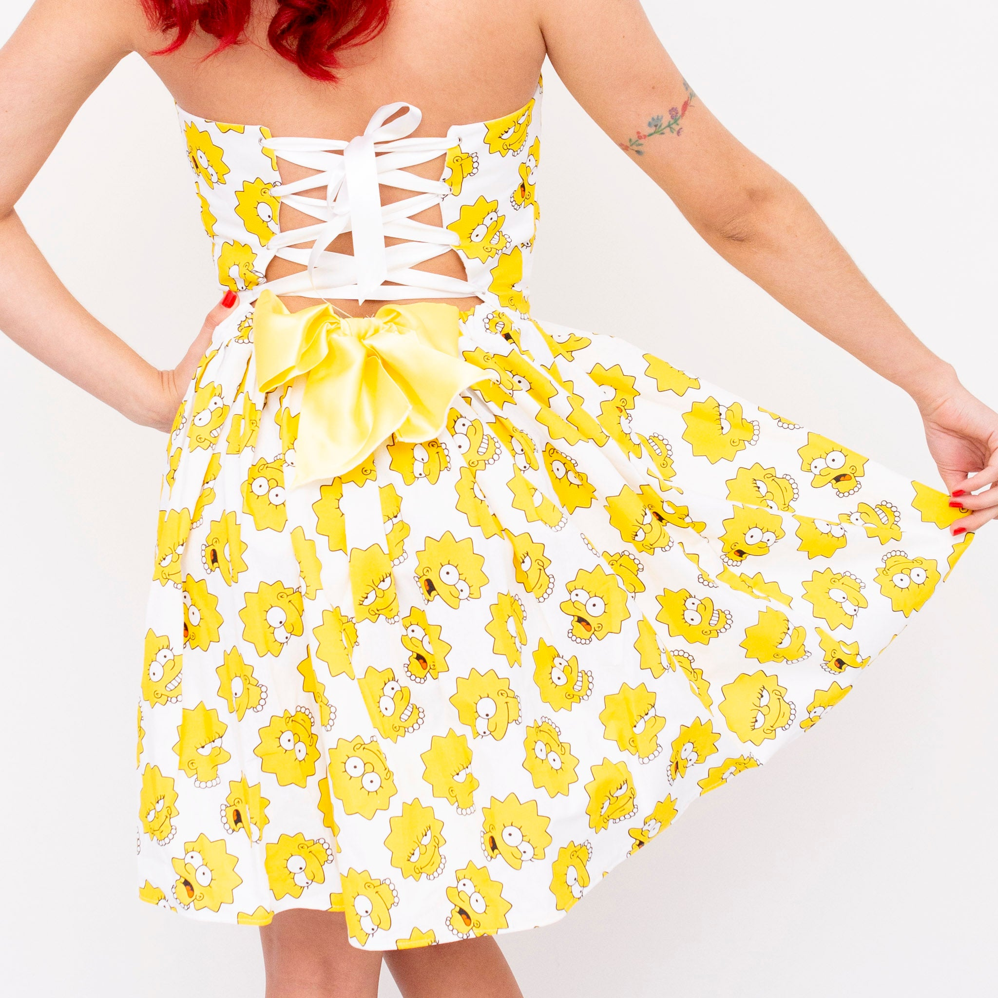 Lisa Simpson Sweetheart Dress