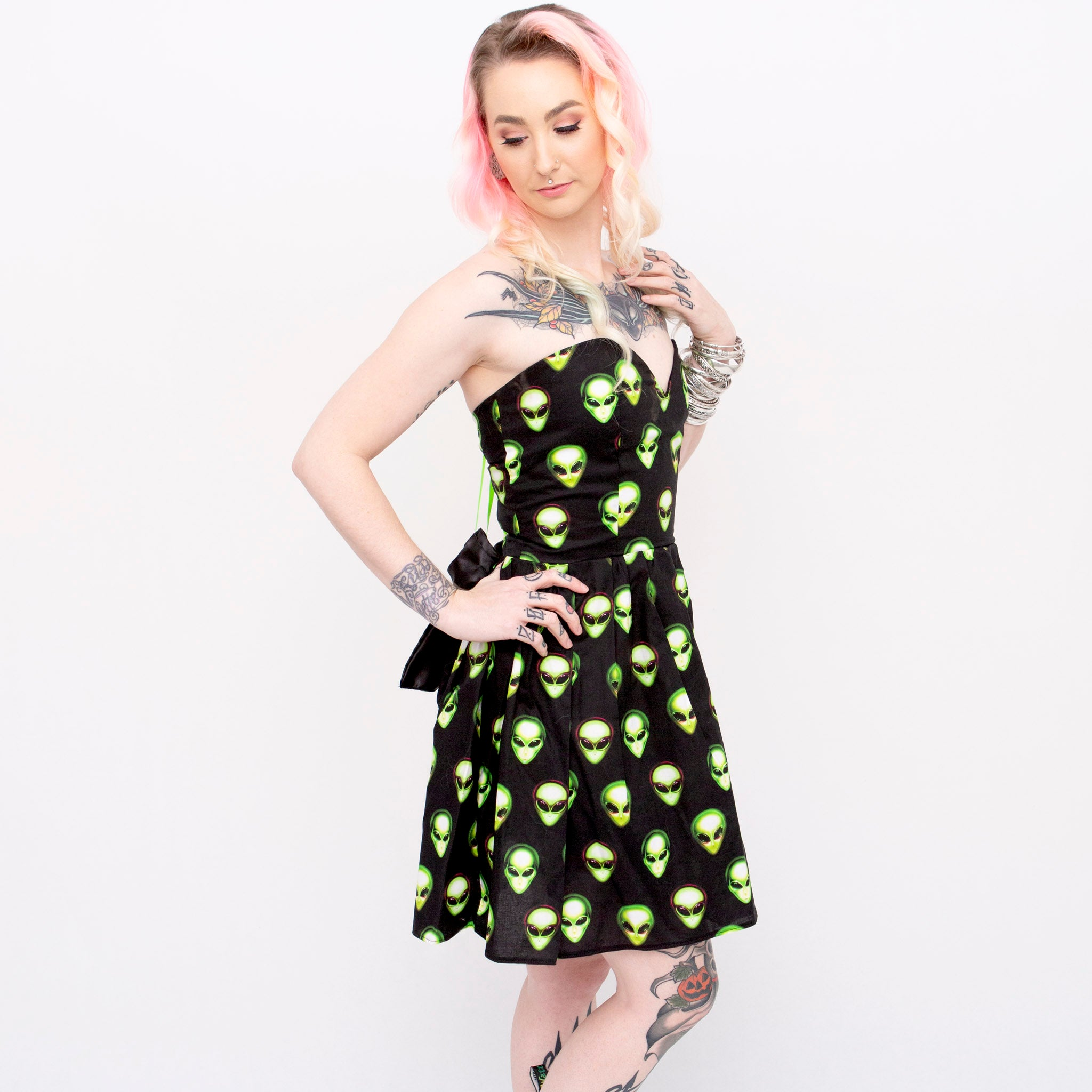 Alien Sweetheart Dress