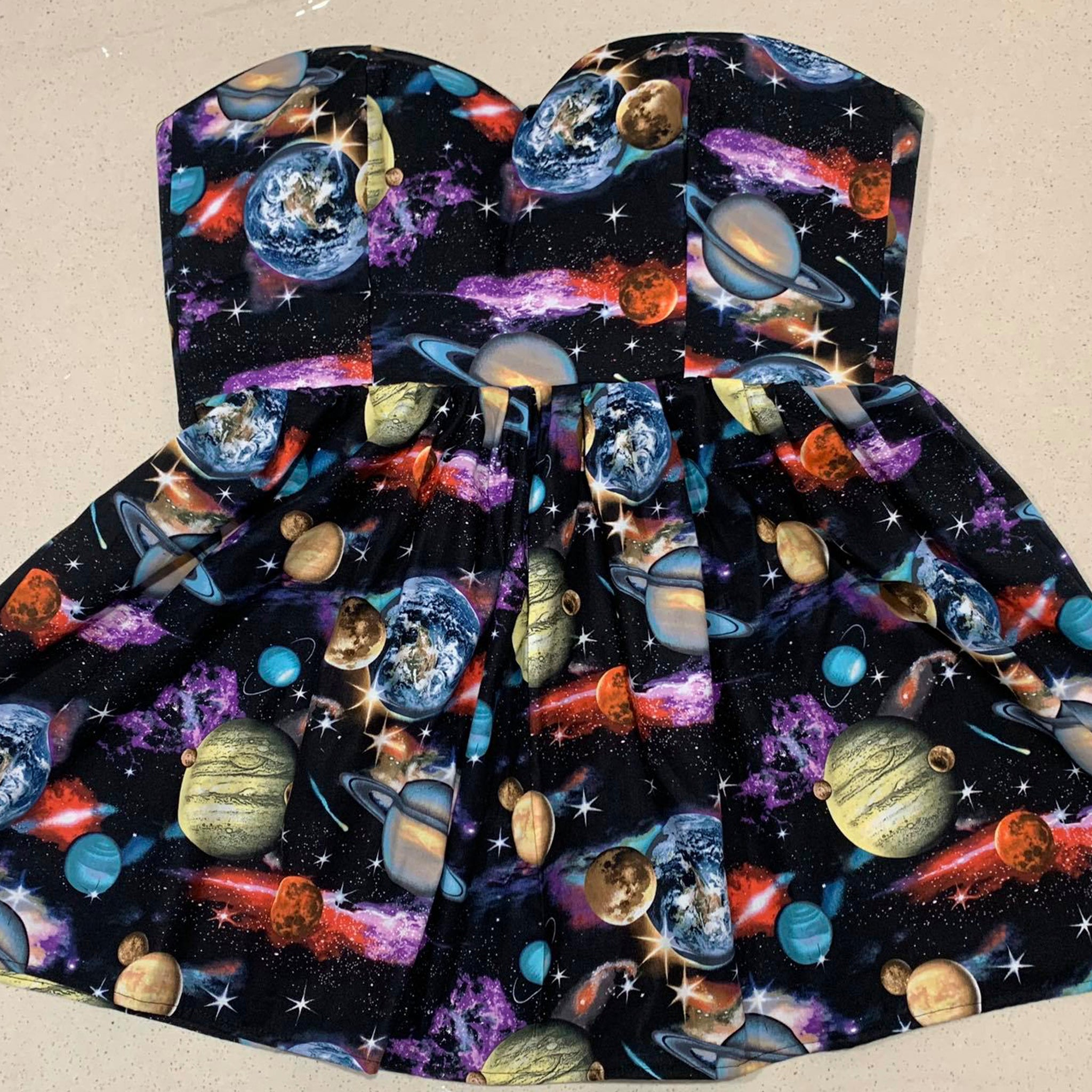 Galactic Sweetheart Dress
