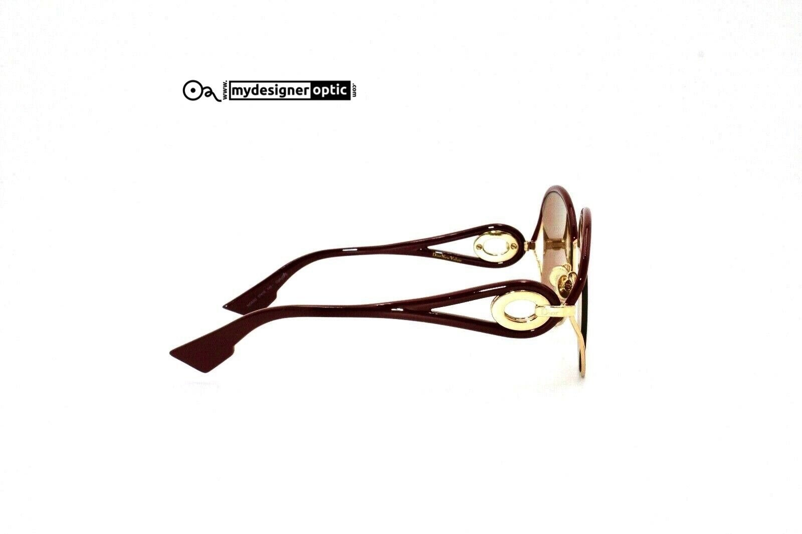 Christian Dior New Volute NOASQ 57-18 145- Optyl VEF06BC62G Made in Italy - Mydesigneroptic