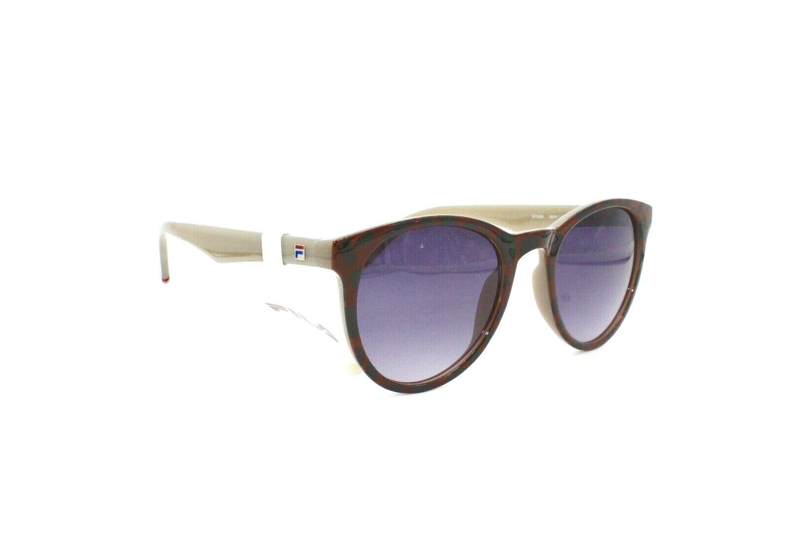 Fila Sunglasses Brown Pattern Purple SF9289 0829 53 22 140 - Mydesigneroptic