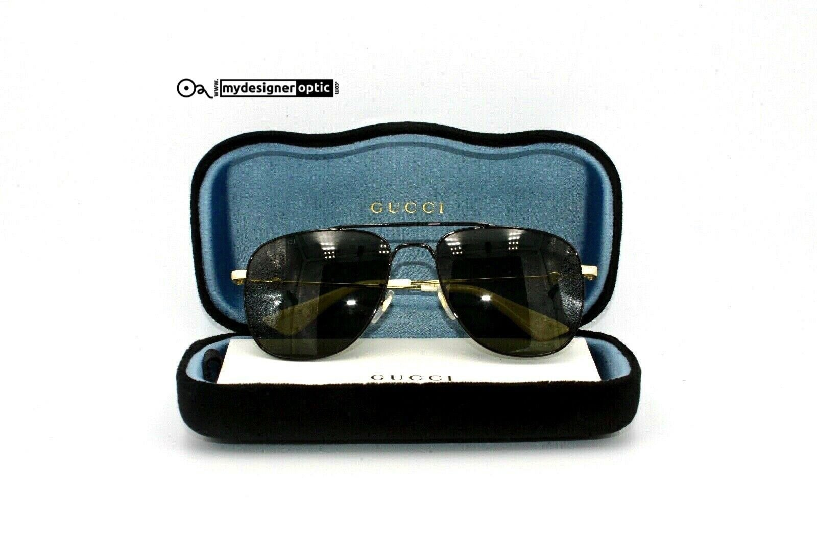 Gucci Sunglasses GG0514S 001 57-18-140 Made in Japan Cat.3 - Mydesigneroptic