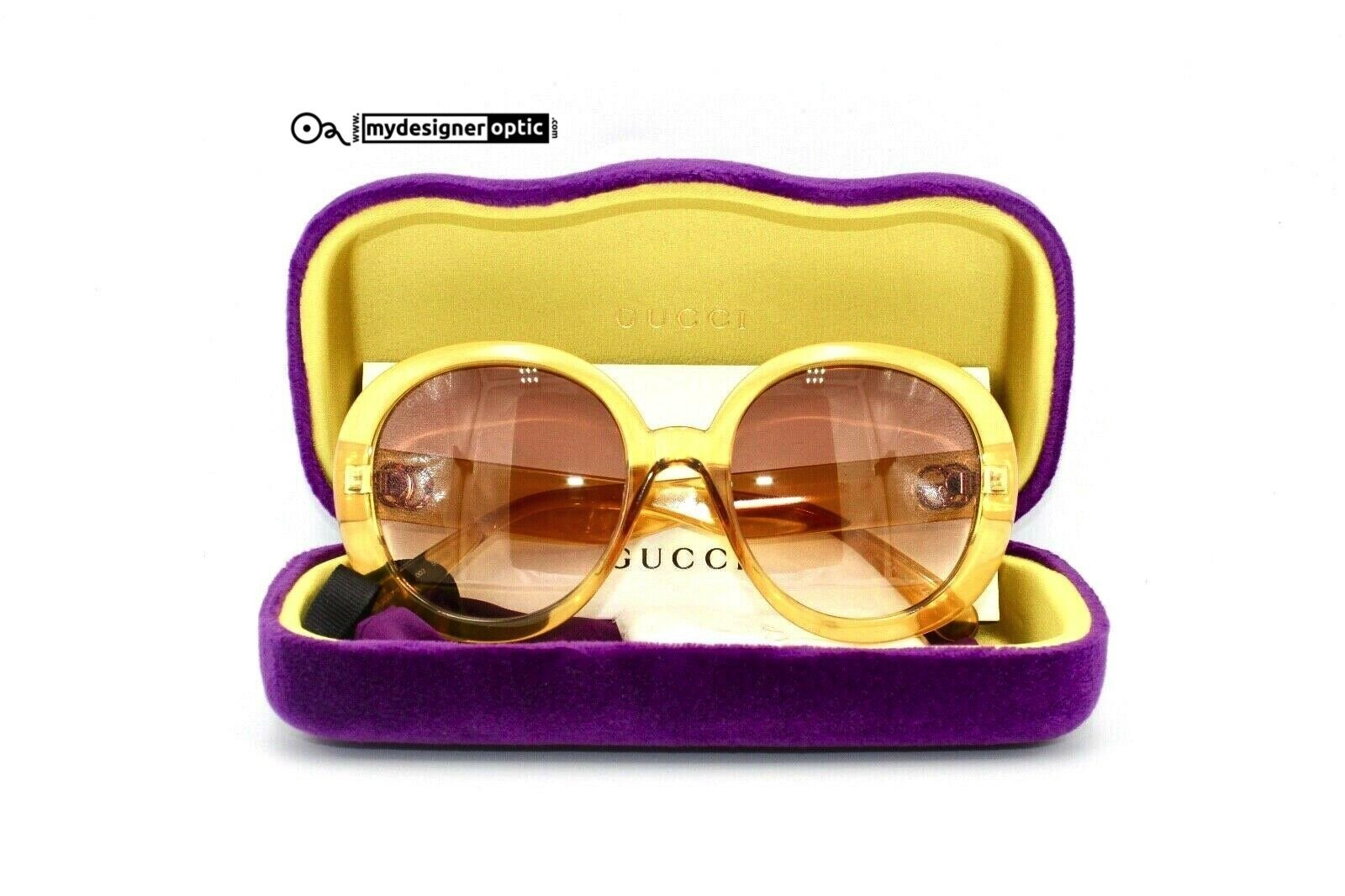 Gucci Sunglasses GG0712S 003 55-21-140 WDF15AYA6J Made in Italy Cat 2 - Mydesigneroptic