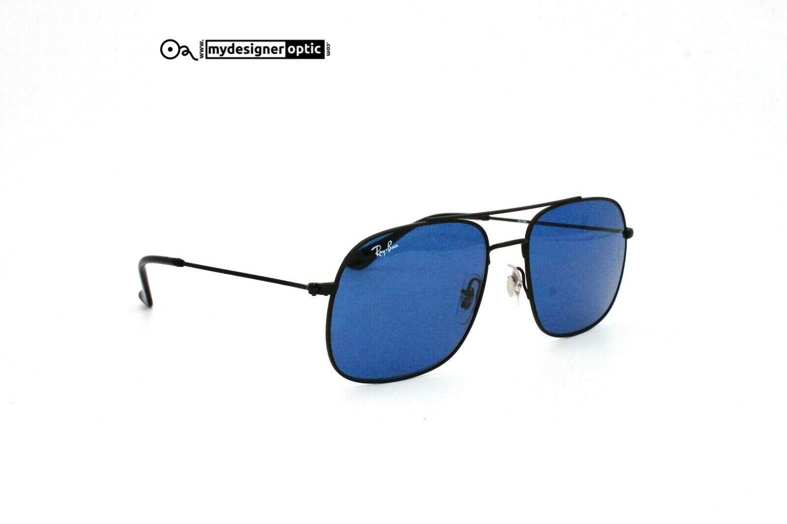 Ray Ban Sunglasses RB 3595 ANDREA 9014/80 56 17 140 3N (DEADSTOCK) - Mydesigneroptic