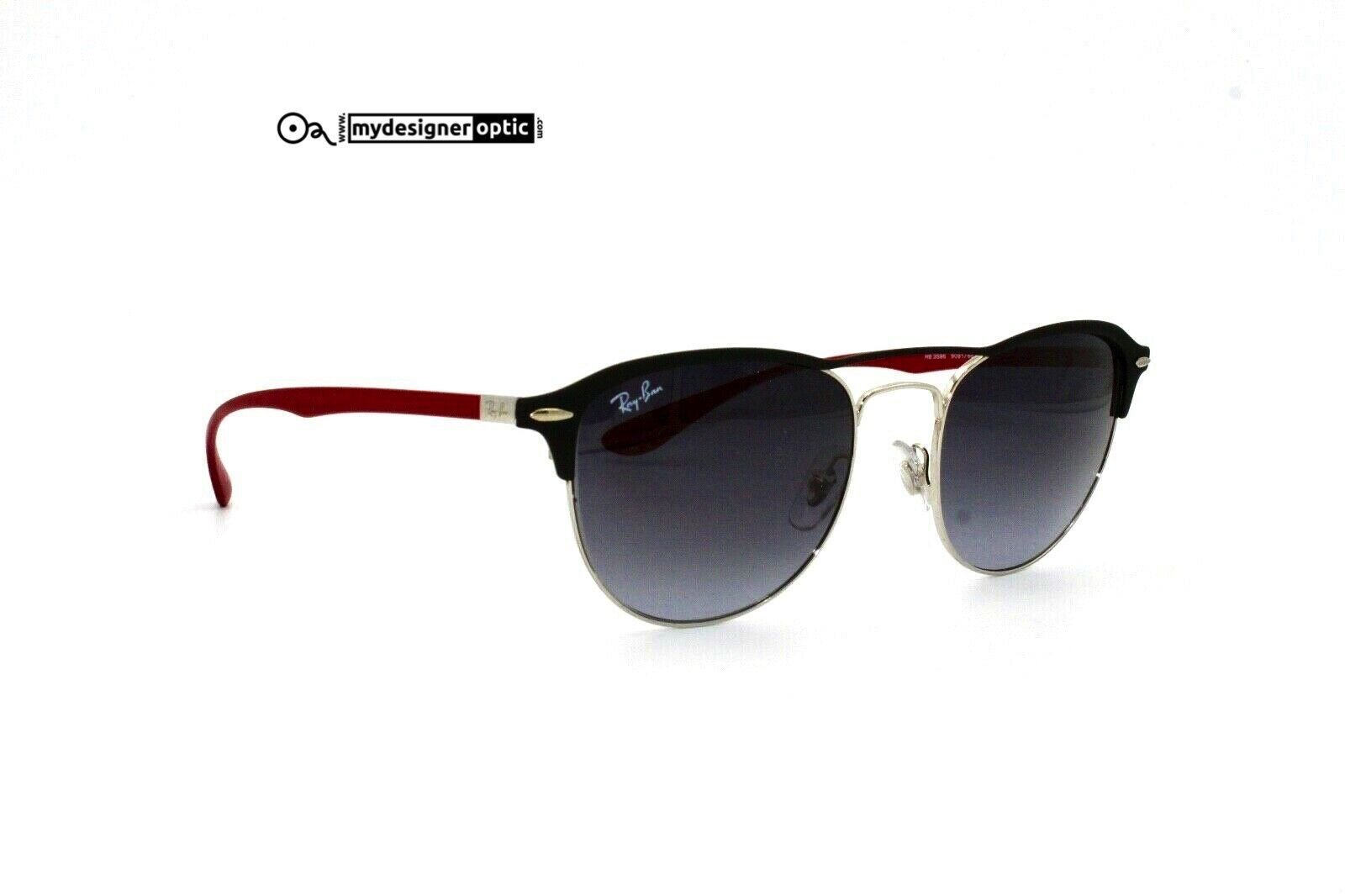 Ray Ban Sunglasses RB3596 9091/88 54 19 145 3N Liteforce Made in Italy - Mydesigneroptic