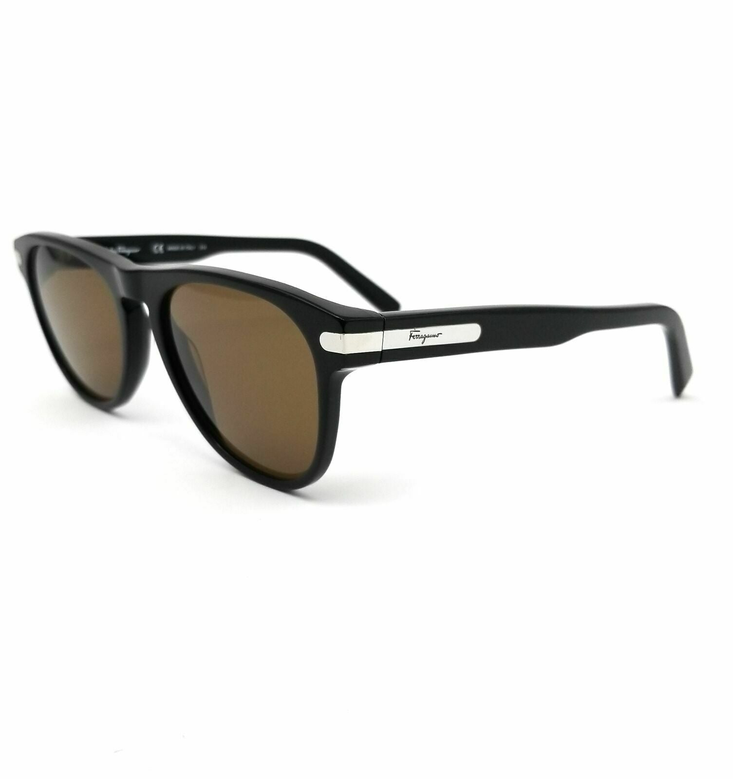 Salvatore Ferragamo Sunglasses SF916S 001 Black Modified Rectangle Men 55x19x140 - Mydesigneroptic