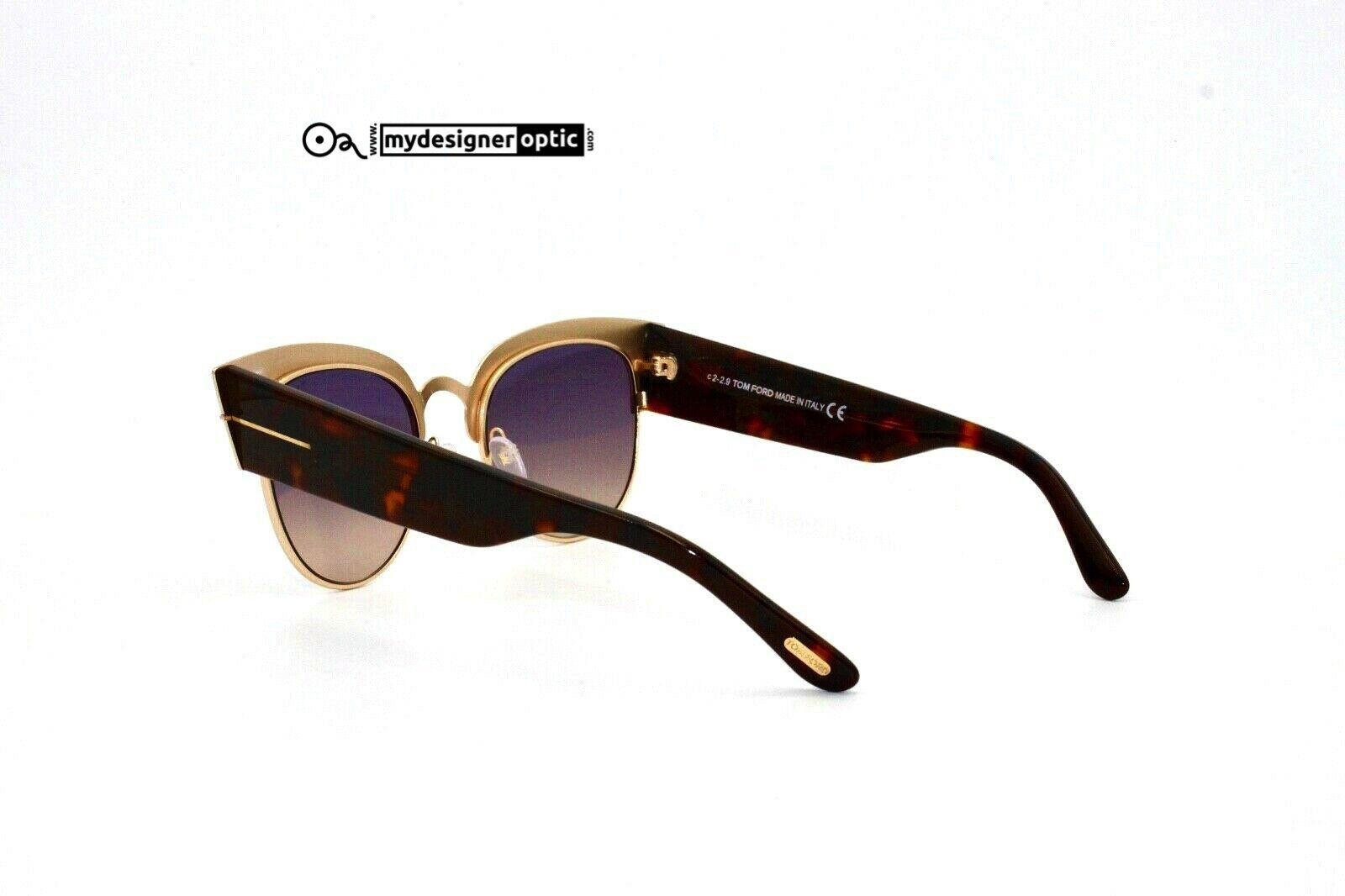 Tom Ford Sunglasses Alexandra-02 TF607 74B 51-21 145 .2 c2-2.9 Made in Italy - Mydesigneroptic