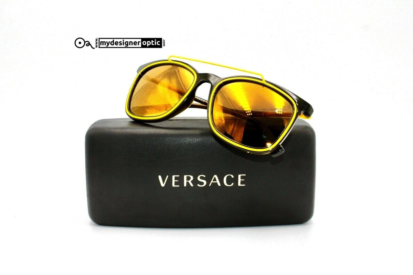 Versace Sunglasses MOD 4335 5256/F9 56 20 145 3N Made in Italy - Mydesigneroptic