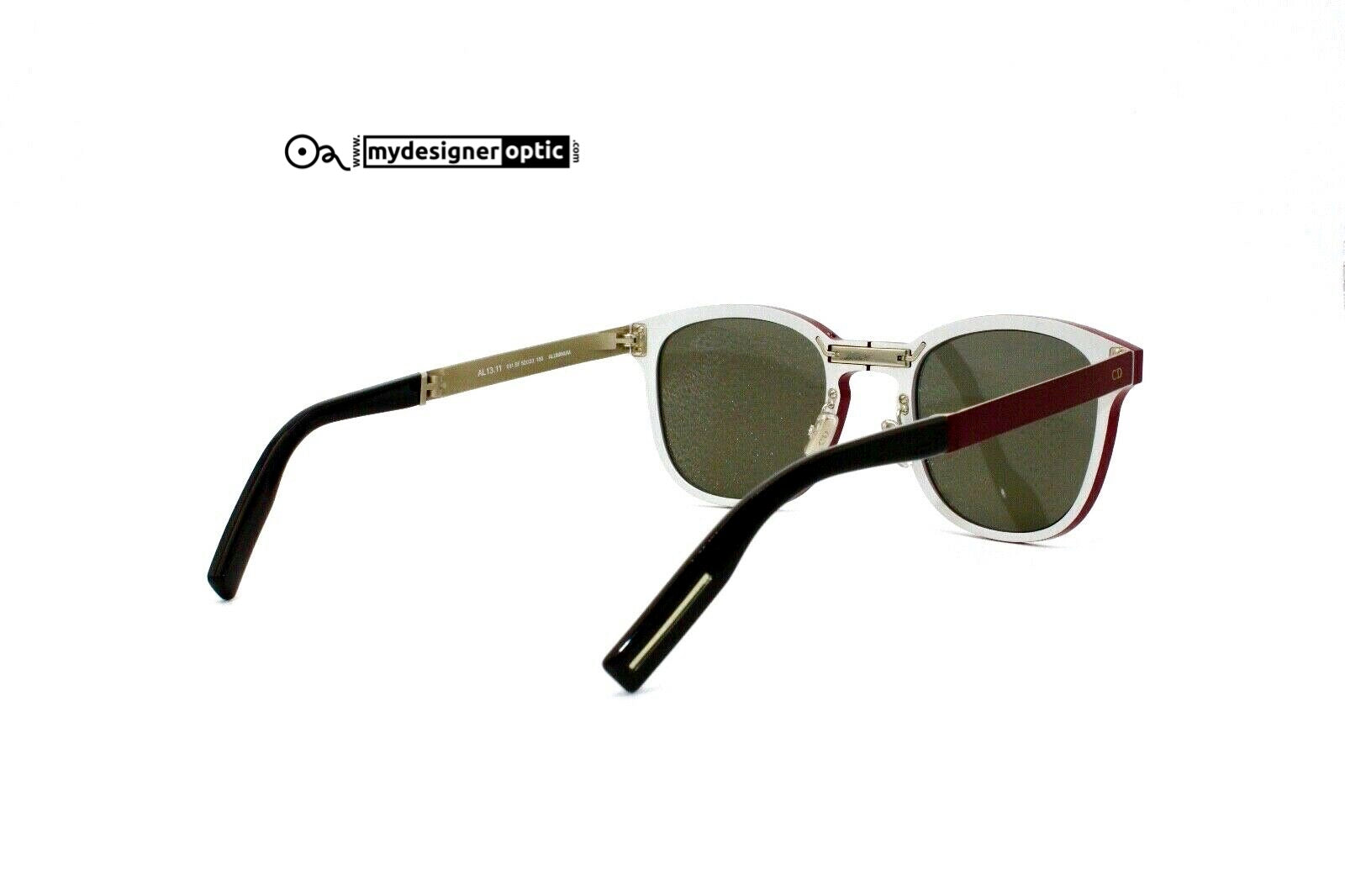 Dior Homme AL13.11 011 SF 52-23 150 ALUMINIUM Made in Italy (Real DEAD STOCK) - Mydesigneroptic