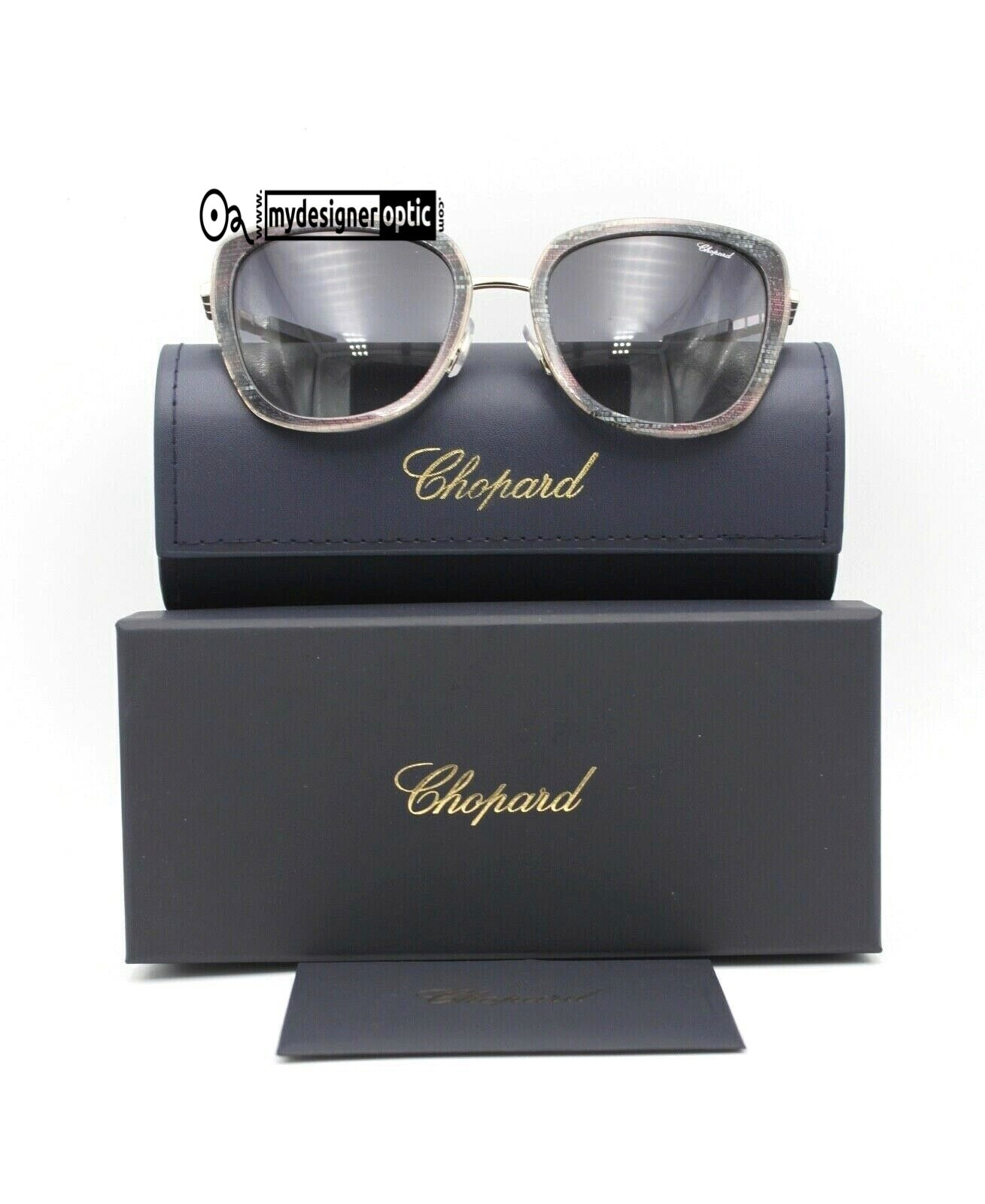 Chopard Sunglasses SCHC22 54-20 0594 135 Ceramic Made in Italy (DEAD STOCK) - Mydesigneroptic