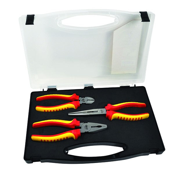 Avit Insulated Pliers - 3 Piece Set