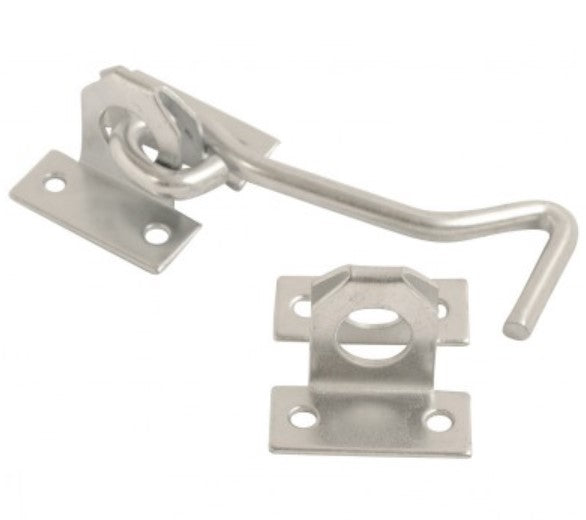 Wire Cabin Hook - 200mm (Bright Zinc Plated)