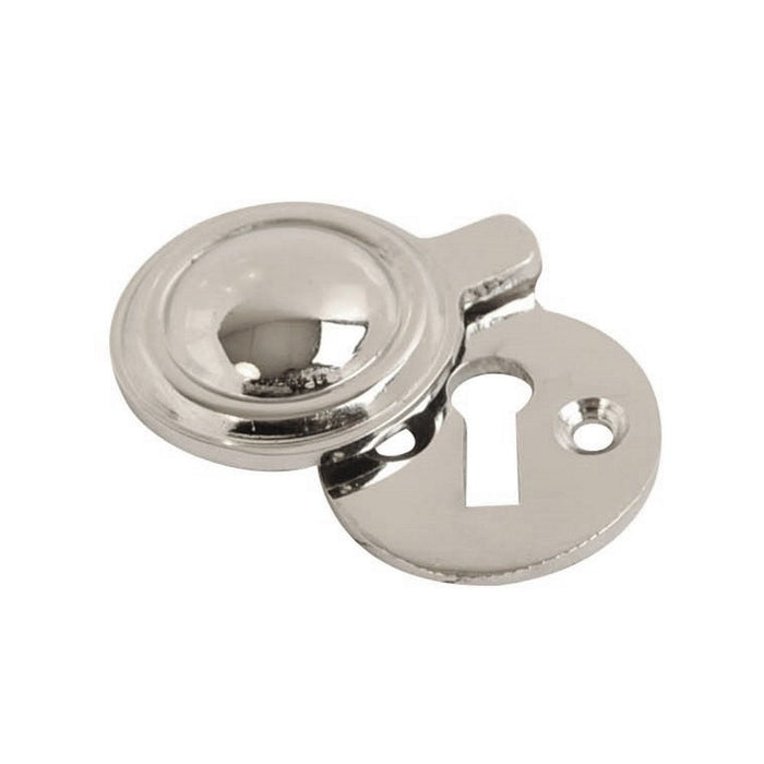 Keyhole Cover / Escutcheon 32mm - Closed (Chrome Plated)