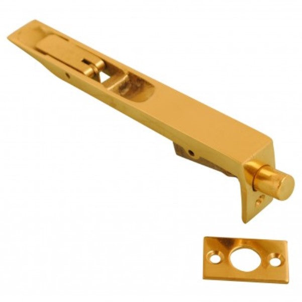 Flush Bolt - 150mm x 19mm (Polished Brass)