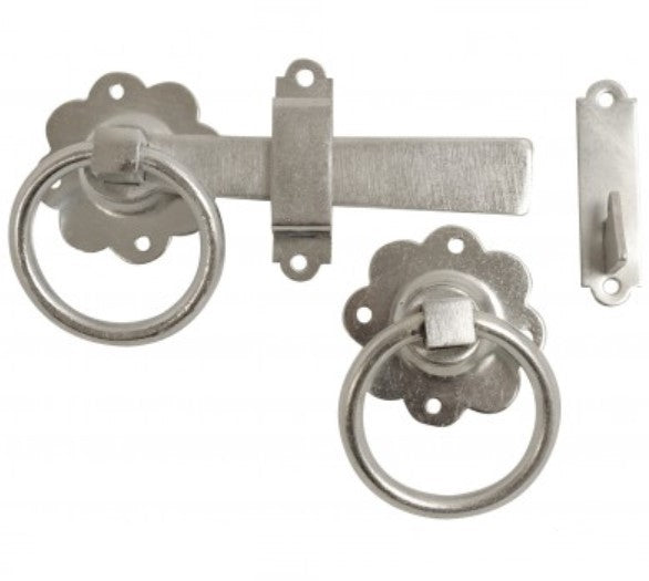 Ring Gate Latch - 150mm (Galvanised)