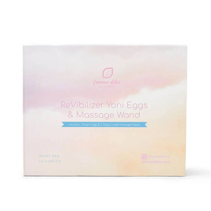 Femme Detox ReVibilizer Yoni Eggs & Massage Wand