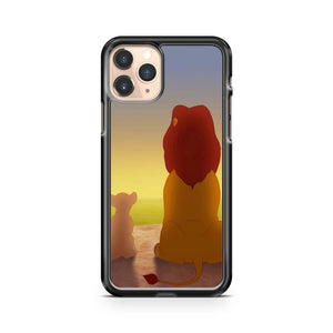 Lion King Simba Mufasa iPhone 11 Pro Case Cover