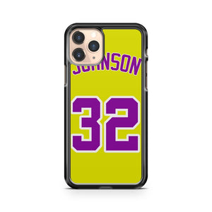 Magic Johnson Los Angles Lakers Ip Gu iPhone 11 Pro Case Cover