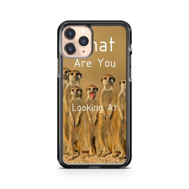 Meerkat What Are You Looking At iPhone 11 Pro Case Cover