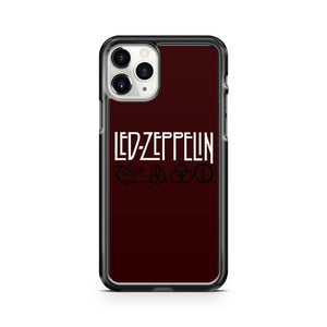 Led Zeppelin Zoso Logo iPhone 11 Pro Case Cover