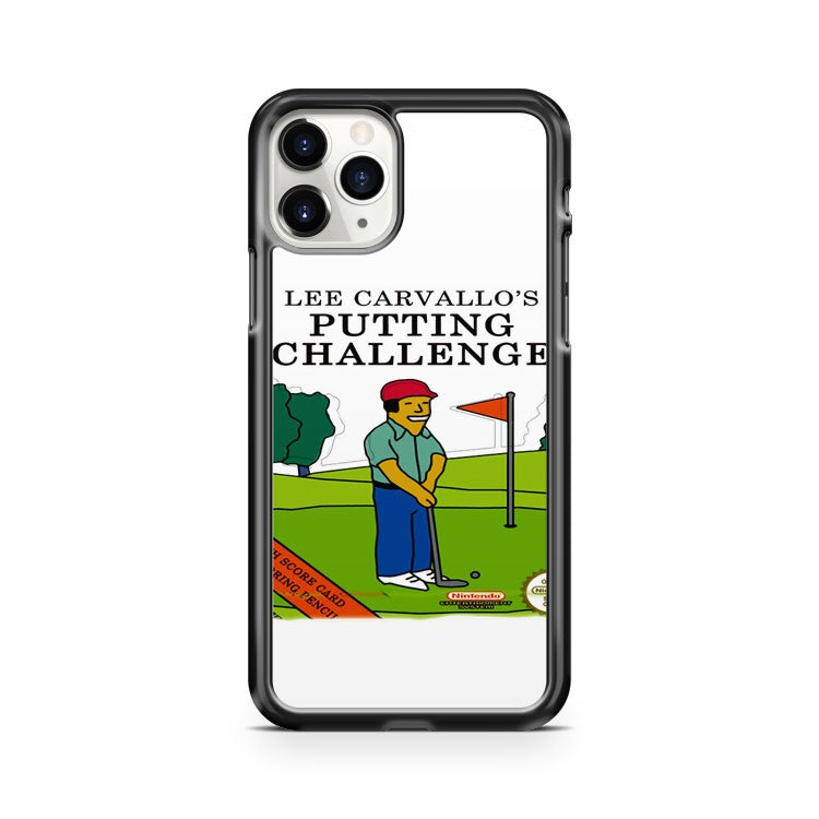 Lee Carvallo Putting Challenge iPhone 11 Pro Case Cover