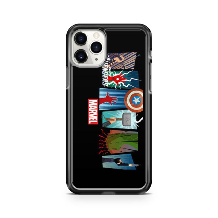 Marvel The Avengers Poster iPhone 11 Pro Case Cover