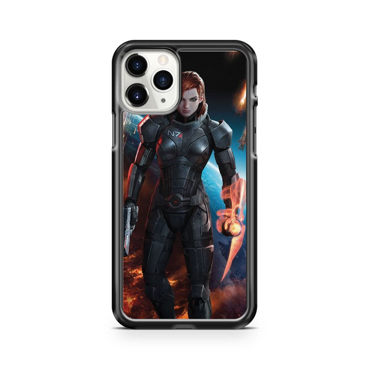 Mass Effect Femshep iPhone 11 Pro Case Cover