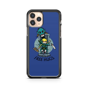 Legend Of Zelda Wind Waker Free Hugs iPhone 11 Pro Case Cover