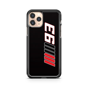 Marc Marquez Lucky Number iPhone 11 Pro Case Cover