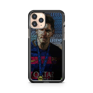 Lionel Andreas Messi Legend iPhone 11 Pro Case Cover
