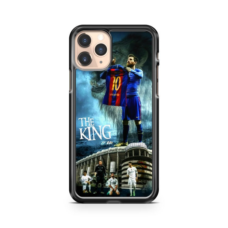 Lionel Messi The King Of El Clasico iPhone 11 Pro Case Cover