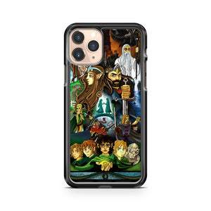 Lord Of The Rings Art iPhone 11 Pro Case Cover