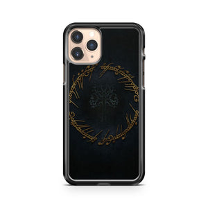 Lord Of The Rings Pattern Style iPhone 11 Pro Case Cover