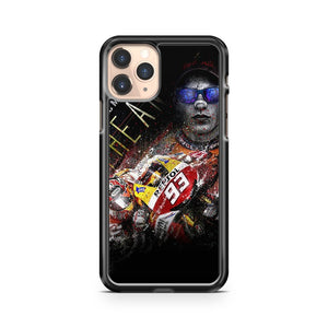 Marc Marquez Honda iPhone 11 Pro Case Cover