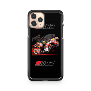 Marc Marquez World Champion Motogp iPhone 11 Pro Case Cover
