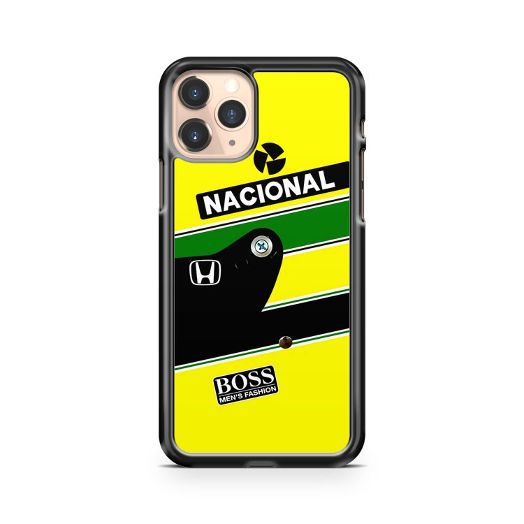 Marcas Parceiras De Ayrton Senna iPhone 11 Pro Case Cover