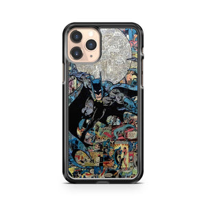Marvel Comic Book Characters Batman iPhone 11 Pro Case Cover