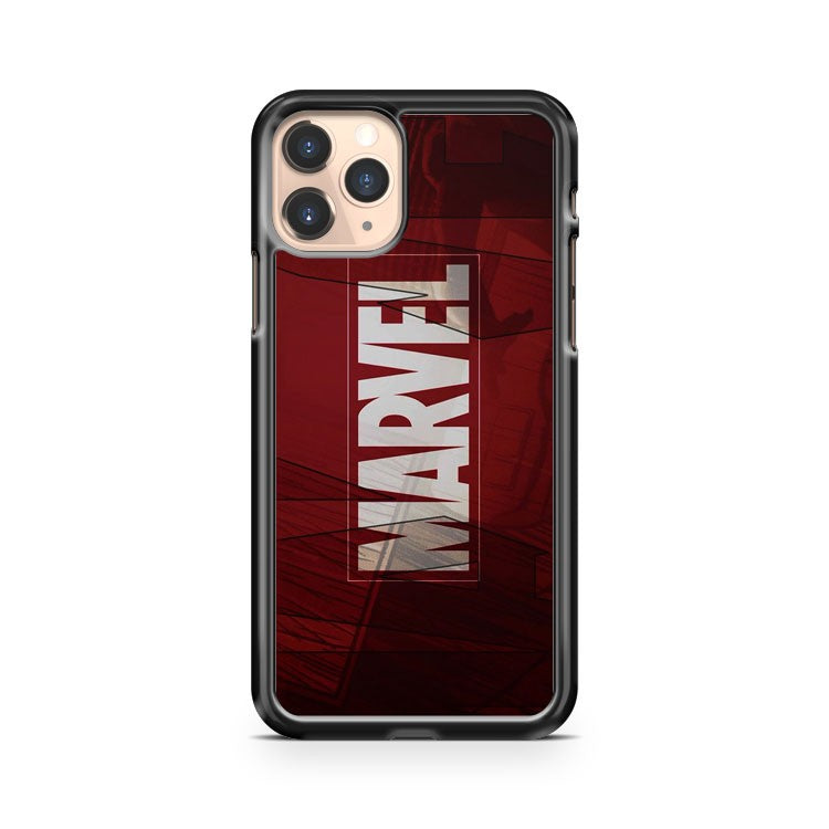 Marvel Logo Film Art iPhone 11 Pro Case Cover