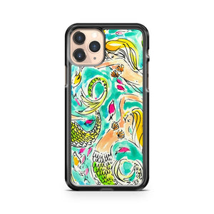 Mermaid Lilly Pulitzer iPhone 11 Pro Case Cover