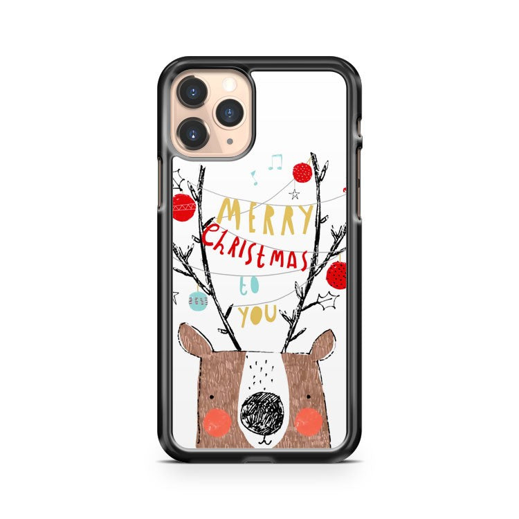 Merry Christmas And Happy New Year iPhone 11 Pro Case Cover