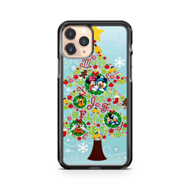 Merry Christmas Mickey Minnie iPhone 11 Pro Case Cover