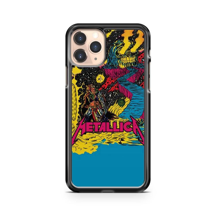 Metallica Concert Poster iPhone 11 Pro Case Cover
