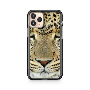 Leopard Face iPhone 11 Pro Case Cover