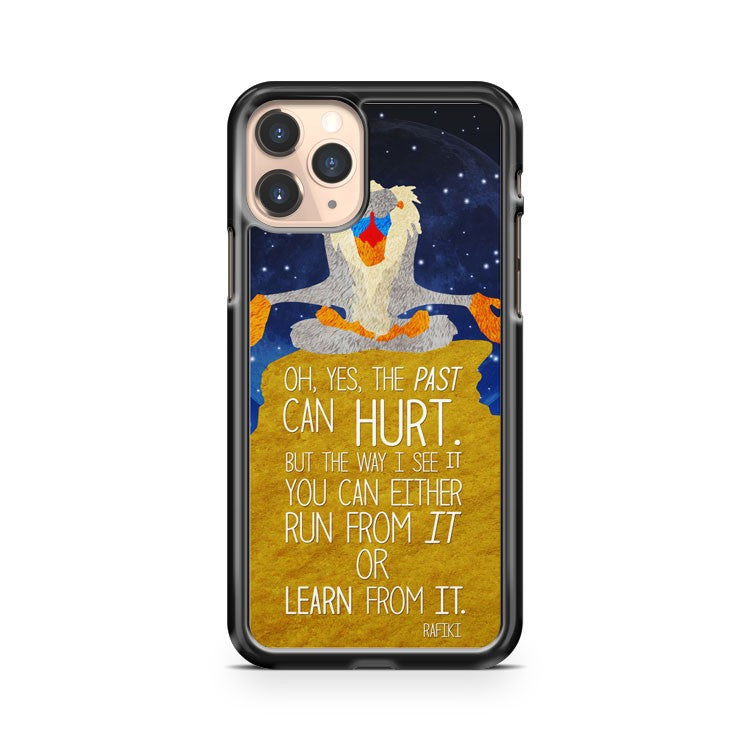 Lion King Memorable Rafikin Quotes iPhone 11 Pro Case Cover