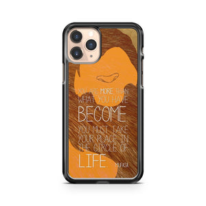 Lion King Quotes iPhone 11 Pro Case Cover