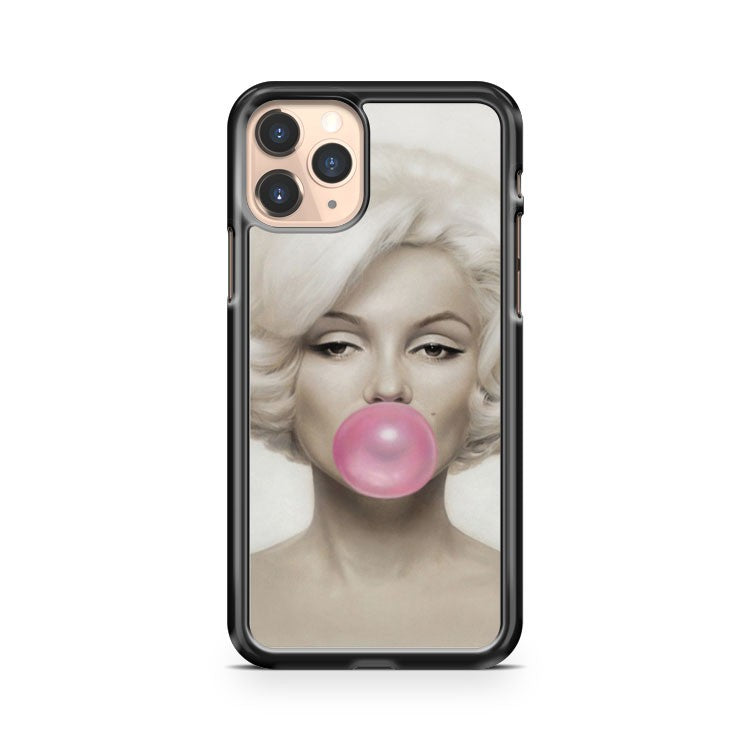 Marilyn Monroe Buble Gum iPhone 11 Pro Case Cover