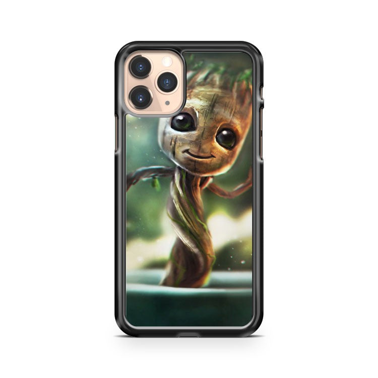 Marvel's Guardians Of The Galaxy Little Baby Groot iPhone 11 Pro Case Cover