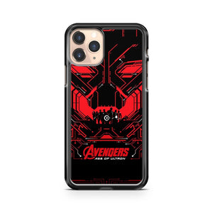 Marvel The Avengers Age Of Ultron Robot iPhone 11 Pro Case Cover
